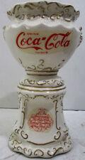 Coca-Cola Ceramic Syrup Urn Pencil Holder circa 1970's