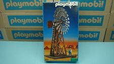 Playmobil 3765 Windmill western train G scale mint in sealed Box NEW collectors