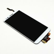 GLS DISPLAY+ TOUCH SCREEN per LG OPTIMUS G2 D802 BIANCO LCD VETRO +FLAT FLEX