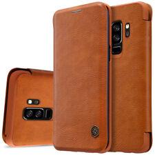 Para Samsung S9/J7 Duo/ Note 8/Note 9 Flip Libro Cuero Funda Billetera Estuche