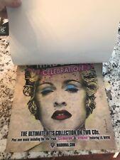 Madonna - Celebration Mega Rare Reversible Promo Window Cling Sticker 12X14