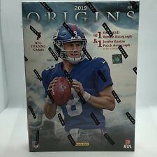 2019 PANINI ORIGINS NFL FOOTBALL HOBBY BOX 1 Autograph and 1 Memorabilia Card