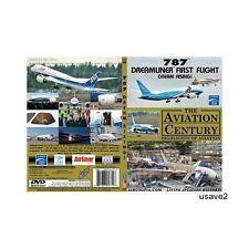 "BOEING 787 DREAMLINER ""FIRST FLIGHT""-Aircraft Airline DVD Video-Brand New"