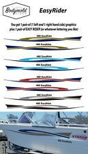 Stacer style EasyRider Graphics  1 pair left and right 2000mm long