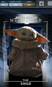 Topps Star Wars The Child Masterwork RARE [Digital Card]
