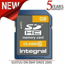 Integral Secure Digital (SD) 32GB Memory Card│High Capacity│Class 10│INSDH32G10