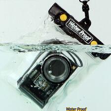 Under Water Housing Water-Proof Digital Camera Case for Panasonic Lumix Pentax