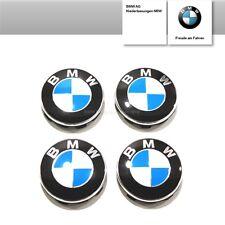 Original BMW 4x Nabenabdeckungen Radnaben Felgendeckel Naben Emblem 36136783536