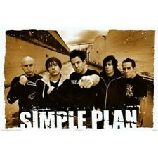Simple Plan Poster 36x24 inch