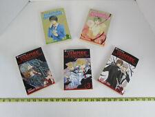Lot of 5 Shojo Beat Manga Books Vampire Knight 2 3 4 & Absolute Boyfriend 1 & 2