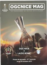 OGC Nice v  Lazio Rome 2017/18 (19 Oct) Europa League