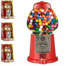 Retro Gumball Dispenser Machine Toy With 90g Bubble Gum Bag Coin Operated Bank