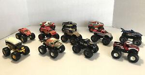 Hot Wheels Monster Jam 1:64 Diecast Lot 12 Truck Variation Loose 4lbs