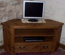 Rustic Plank Pine Furniture New Solid Wood Corner tv Cabinet Stand any size made