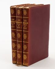 Les Miserables by Victor Hugo 3 Volumes Thomas Nelson & Sons 1900s Soft Pocket