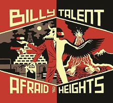 BILLY TALENT - AFRAID OF HEIGHTS  2 VINYL LP NEU