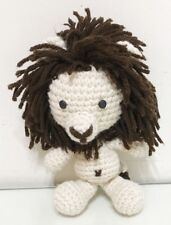 handmade doll crochet LION