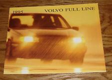 Original 1995 Volvo Full Line Sales Brochure 95 850 940 960