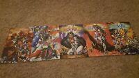 Atomik Angels (1996) #1-4 + #3 Variant, Crusade Comics, William Tucci, COMPLETE