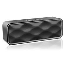 Portable Bluetooth Speakers V4.2 Wireless Mini Stereo HD Audio Dock Music Player