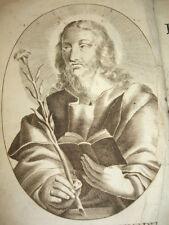 LES FLEURS DES VIES DES SAINTS  Amable Bonnefons 1653