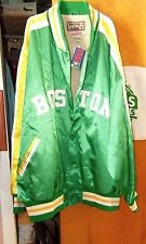 Classic BOSTON Celtics RUSSELL NBA satin jacket HARDWOOD CLASSICS #6 Sz 60-NWT