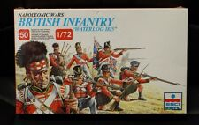 "ESCI ERTL BRITISH INFANTRY ""Waterloo 1815"" 50  1/72 Scale # 215 01"