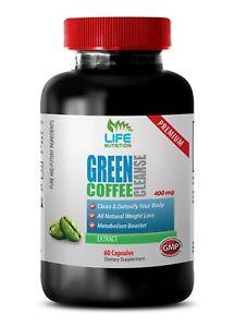 green coffee antioxidant - Green Coffee Cleanse 400mg - anti aging blend 1B