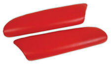 00-04 Corvette Torch Red Leather Armrest Pads NEW 479893