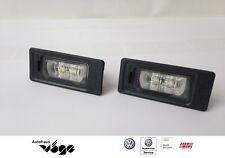 Original Audi A1 A4 Q5 RS5 S4 LED Kennzeichenbeleuchtung Nummernschild S5 TT Neu