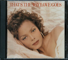 Janet Jackson - That's The Way Love Goes (CD, Single, 1993) PROMO DPRO-12773