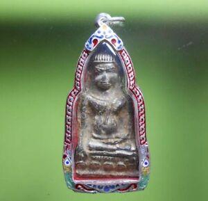 PERFECT! PHRAHOOYAN OLD THAI BUDDHA AMULET VERY RARE !!!