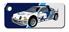Personalised Ford RS200 Rally Car Keyring