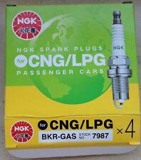 NGK Zündkerzen BKR-Gas 7987 für LPG/CNG gleich V-LINE 23 / 4483 Laser line LPG1