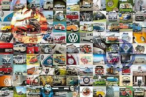 Ravensburger 99 VW Campervan Moments Jigsaw Puzzle (3000 Pieces)