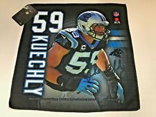 NFL CAROLINA PANTHERS # 59 KUECHLY  WINCRAFT  SPORTS 16 X 16 COLLECTOR TOWEL