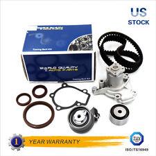 Timing Belt Tensioner Water Pump Kit for 2005-2010 Hyundai Kia 2.0L G4GC G4GF