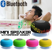 Impermeable Bluetooth Inalámbrico Altavoz Manos Libres Música Mic Succión Coche Ducha caliente