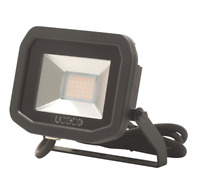 LUCECO LFS12B130 LED SLIM FLOODLIGHT 15W BLACK WARM WHITE