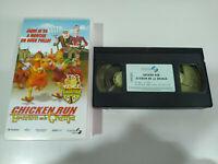CHICKEN RUN EVASION EN LA GRANJA - VHS CINTA TAPE ESPAÑA GOMAESPUMA