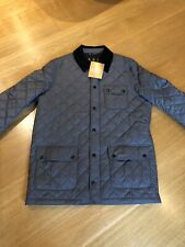 Barbour Barnett Quilted Jacket XL- Stunning In Grey- BNWT Massive Saving
