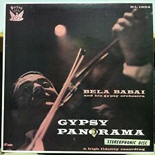 BELA BABAI gypsy panorama LP VG+ PRST 1924 Period Stereo USA ED1 1958 Record