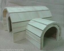 PINE PLY WOOD TUNNEL HOUSE FOR CAGE/RUN CORREX C&C SET,SMALL RABBIT,GUINEA PIG