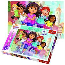 TREFL 24 Pezzi MAXI bambini Unisex Dora L'esploratrice e amici Puzzle