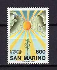 14279) SAN MARINO 1985 MNH** Conferenza Helsinki