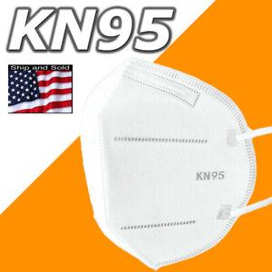 100 50 10 Face Mask Nose Strip Disposable Masks 5 Layers KN95 BFE 95% Respirator