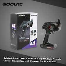 Original GoolRC Tg3 2.4ghz 3ch Digital Radio Remote Control Transmitter J5x2