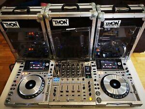 Pioneer DJ Nexus Limited Platinum DJM 900 + 2x CDJ 2000 NXS + Cases + Decksaver
