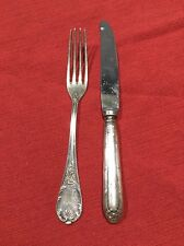 Mixed Lot Vintage Christofle Fork And Stainless Italy Knife