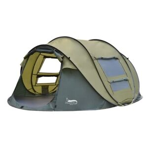 Desert&Fox Automatic Pop-up 3-4 Person Outdoor Instant Setup Tent for Multi Use